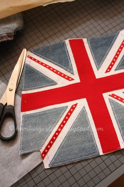 How to make a Union Jack bag
