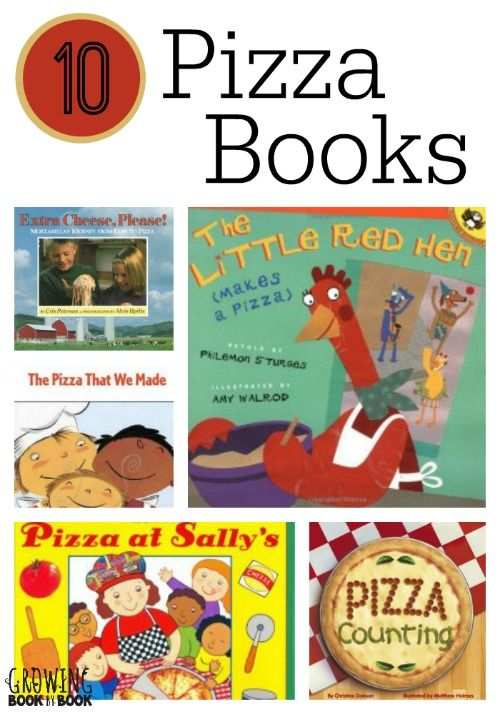 Pizza books for kids that will excite you to want to cook with kids in the kitchen.
