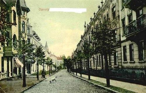 Ulica Wajdeloty we Wrzeszczu / Wajdeloty Street, #Wrzeszcz #Gdansk