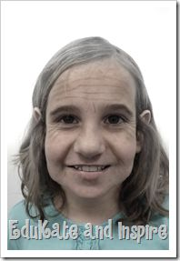 100th Day of School--Using an app to show how students will look at 100! This will be awesome to do for 100th day