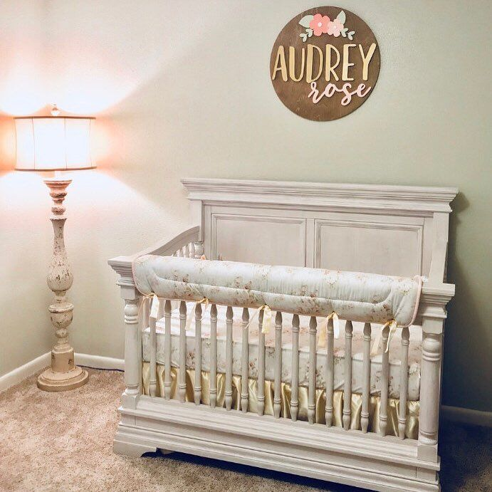 Rose Gold Nursery Decor Baby Handmade Hand