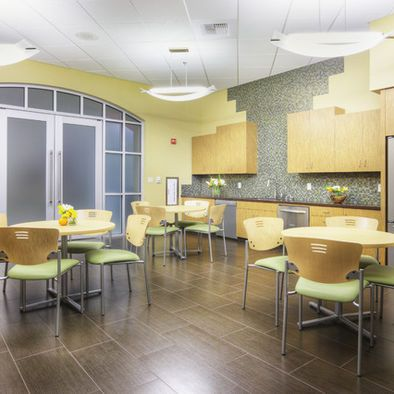 89 best images about pantry breakroom lunch room cafe for Office lunch room design ideas