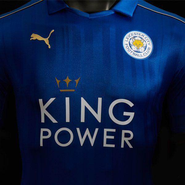 Leicester City 2016/17 Home Kit by PUMA : Football Apparel : Soccer Bible