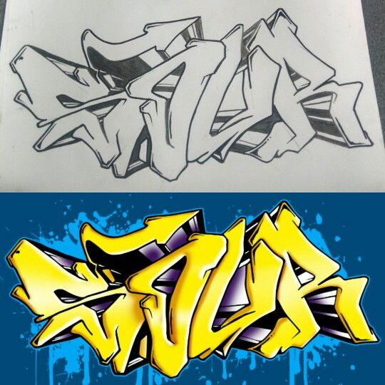 Illutration  #graffiti #illustration #graffitiart #sour