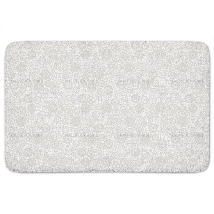 Uneekee Secession Grey Bath Mat