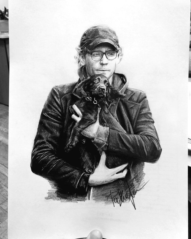 "nicana_micael: ""My new sketch Tom and his little friend I love these two cuties"" (https://www.instagram.com/p/BbmgHUkl_aq/ )"
