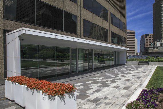 Unilock - One Federal Roof Deck with Umbriano Paver in Boston