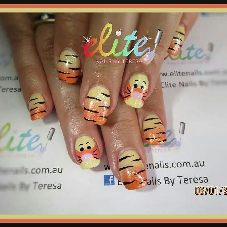 Tigger Nails: 1000+ Images About My Nail Designs