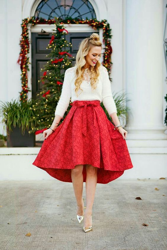 10 Pretty Christmas Eve Church Clothes That Looks Polite | Simple Outfit |  Pinterest | Christmas fashion, Christmas party outfits and Holiday outfits - 10 Pretty Christmas Eve Church Clothes That Looks Polite Simple