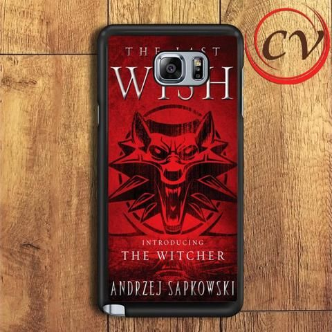 The Last Wish The Witcher Samsung Galaxy Note 5 Case