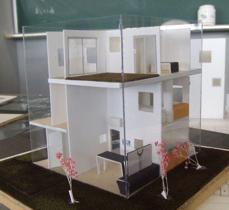 2011年度 建築設計製図1 優秀作品-模型