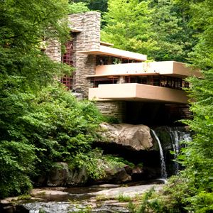 Frank Lloyd Wright's Pennsylvania | Via Travel + Leisure.