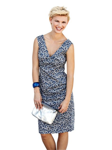 Retro Sheath Dress 05/2013 #134 - BurdaStyle Spring 2014