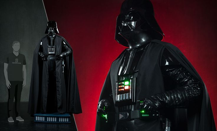 The Darth Vader Life Size Figure Now Available At Sideshowcollectibles Com For Fans Of Star Wars And Disney Vader Star Wars Darth Darth Vader