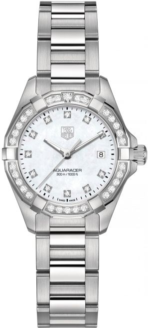 WAY1414.BA0920 NEW TAG HEUER AQUARACER WOMENS LUXURY WATCH IN STOCK     - FREE Overnight Shipping | Lowest Price Guaranteed    - No…