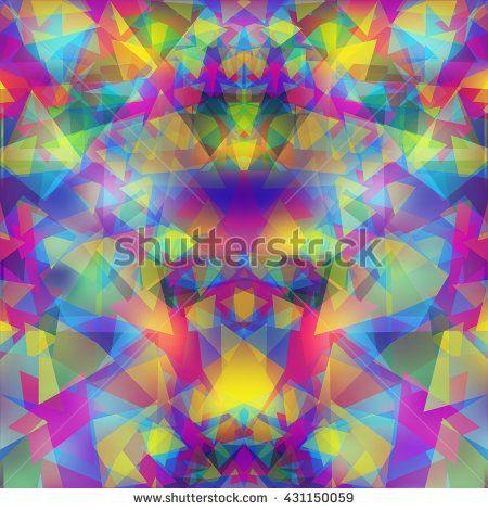 Modern geometric odd background, vector image.  - stock vector