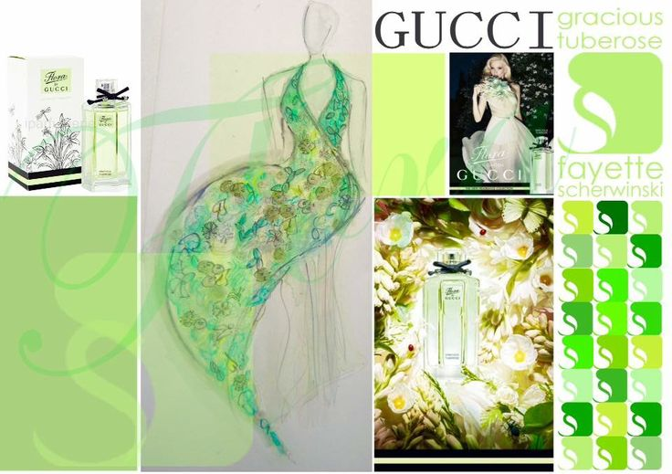 Flower Dresses Inspired by Gucci Flora, Garden Collection Tuberose  Floral Design / Styling: Fayette