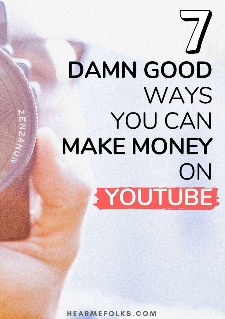 7 bewährte Möglichkeiten, wie Sie mit YouTube-Videos Geld verdienen können – Starscapes