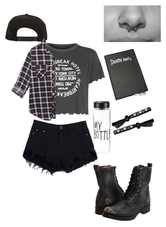 """""""Untitled #7"""" by analiaminuchin ❤ liked on Polyvore featuring Topshop, Frye, Roark and Wet Seal"""