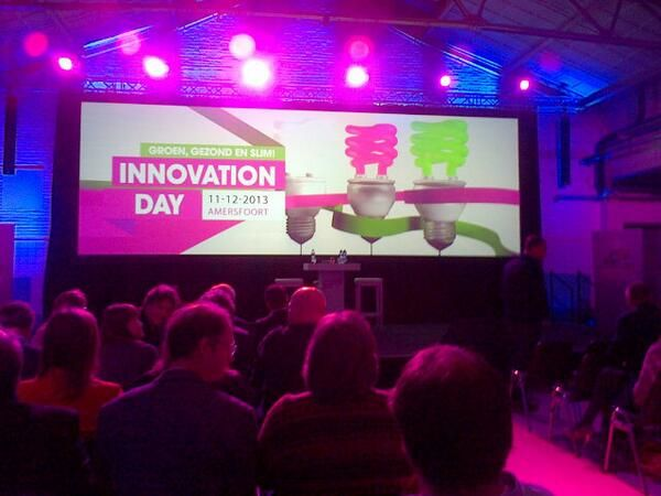 #InnovationDay #IDay13 #DeNieuweStad #Amersfoort #EBUtrecht #HilversumEvents #LikeableDesign