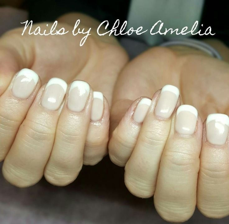 French Manicure- Calgel Manicure