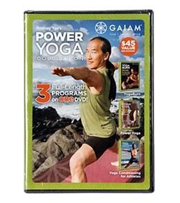 Gaiam Rodney Yee's Power Yoga DVD Collection #yogaoutlet