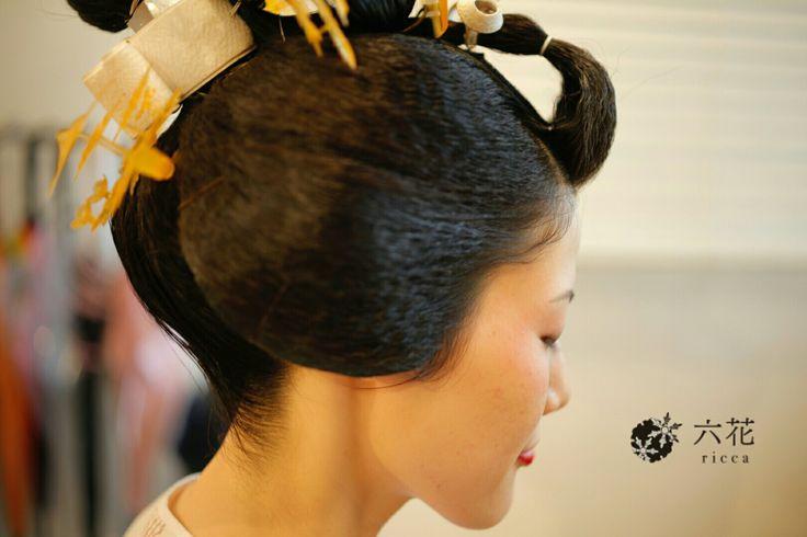 婚礼衣装・フォトウエディング 日本髪地毛結い