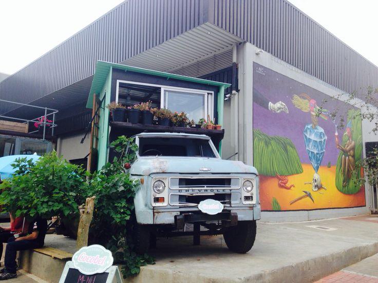 Flower truck, #maboneng