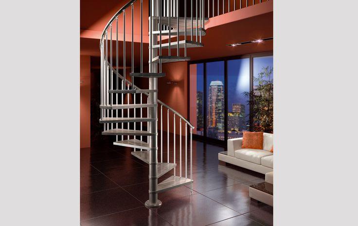 Oltre 20 migliori idee su scale a chiocciola su pinterest for Scala elicoidale dwg