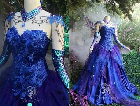 Fairy Gown. Can i have this as my wedding dress....since it will be once upon a time haha>>>