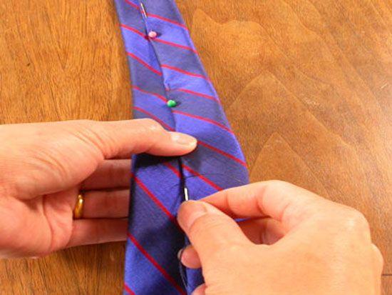 Corbatas DIY para el día del padre | Corbatas masculinas