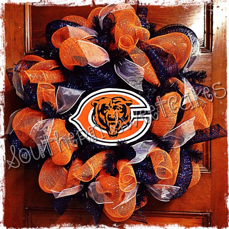 Chicago Bears Wreath!