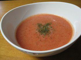 トマトの簡単冷製スープ