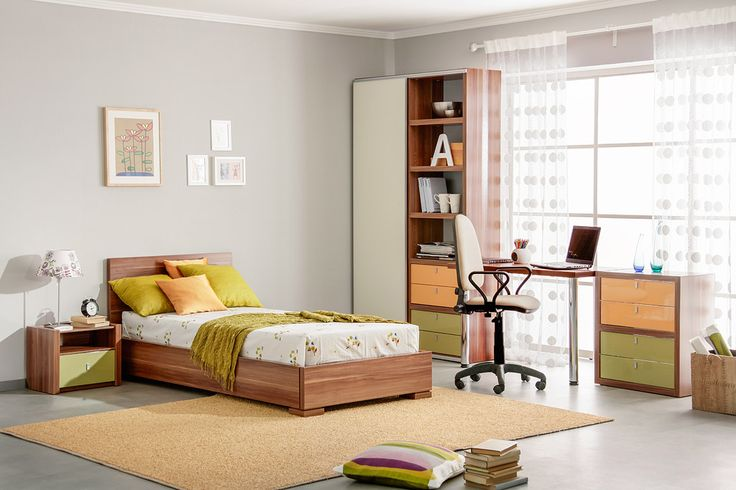 Комплект для небольшой подростковой комнаты   Дизайн интерьера современной детской