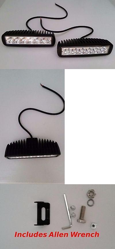 boat parts: (2 Pack) Led Reverse Submersible Boat Trailer Lights Backup12v Black Marine BUY IT NOW ONLY: $35.0