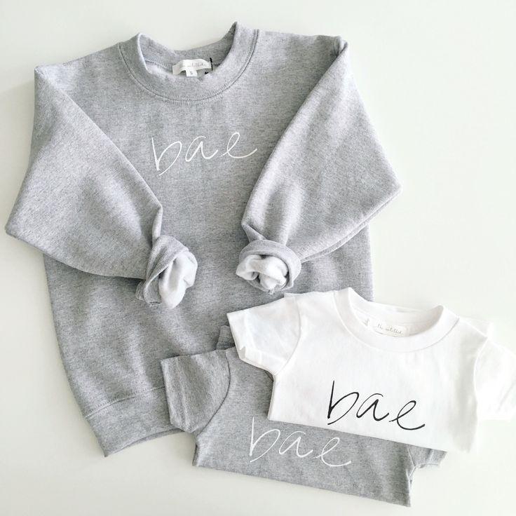 The Untitled Shop: Bae sweatshirt and t-shirts #theuntitledshop #bae #babystyle #babyfashion #babytshirts #babytshirt #kidsstyle #kidsfashion #dailylook #dailyoutfit #fashion #fashiondiaries #lookbook #mystyle #ootd #outfit #ootdwatch #style #stylegram #styleinspo #streetlook #streetstyle #streetfashion #wiwt