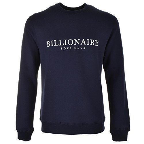 Black Obsidian Mens Navy Billionaire Boys Club Monaco Flock Sweatshirt Navy - X Large Billionaire Boys Club Monaco Flock Crew Neck Sweatshirt Jumper In Navy, A ribbed crew neckline with a stretch ribbed waistband and stretch ribbed cuffs on the long sleeve (Barcode EAN = 0715071460102) http://www.comparestoreprices.co.uk/december-2016-5/black-obsidian-mens-navy-billionaire-boys-club-monaco-flock-sweatshirt-navy--x-large.asp