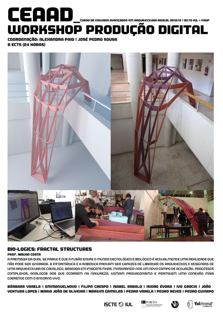 #valchromat #installation #arte #iscte #ceaad #workshop #producao #digital #arquitetura #architecture #design #AlexandraPaio