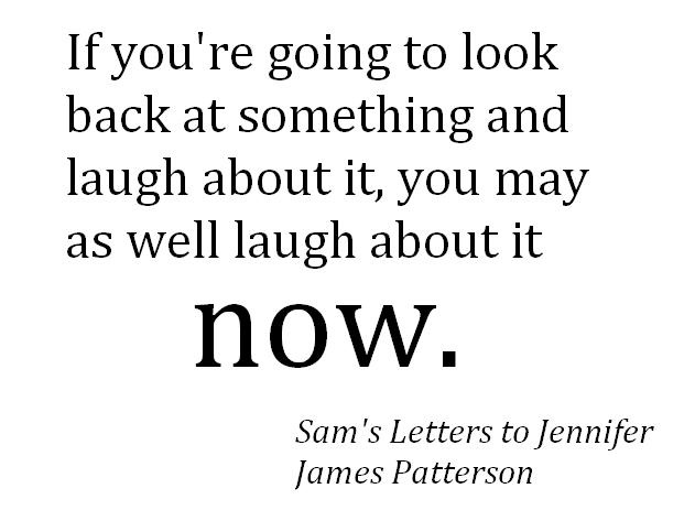 a summary of james pattersons sams letters to jennifer Sam's letters to jennifer by james patterson  sam and i are sitting on a mostly deserted beach on lake michigan a little north of the drake hotel in chicago the.
