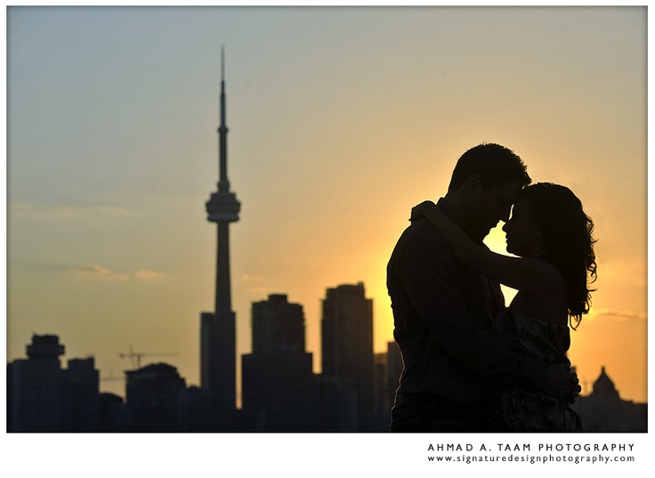 Toronto, Ontario engagement pictures