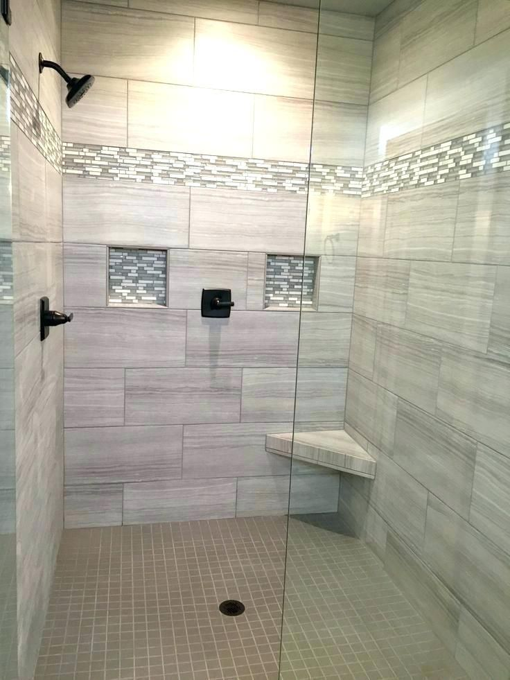 45 Tile Ideas For Small Bathrooms With Images Gray Shower Tile
