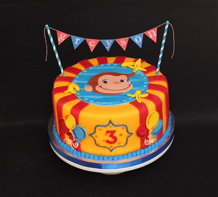 Birthday Cakes - * curious george