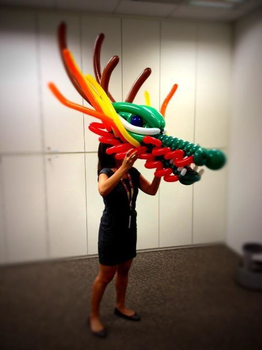 dragon balloon art - Cerca con Google