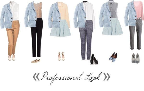 """what to wear with light blue blazer (4)"" by hueyna on Polyvore"