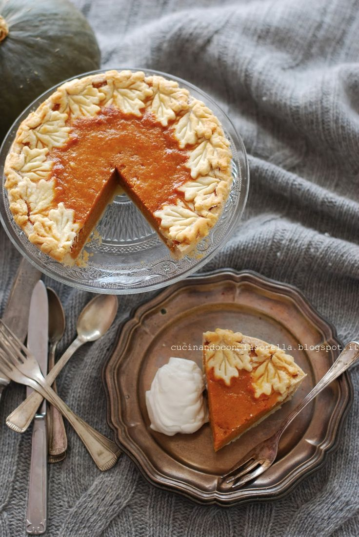 Pumpkin Pie -Torta di Zucca-