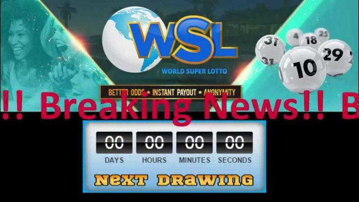 World Super Lotto - Live Drawing #12 - Nov 8, 2014