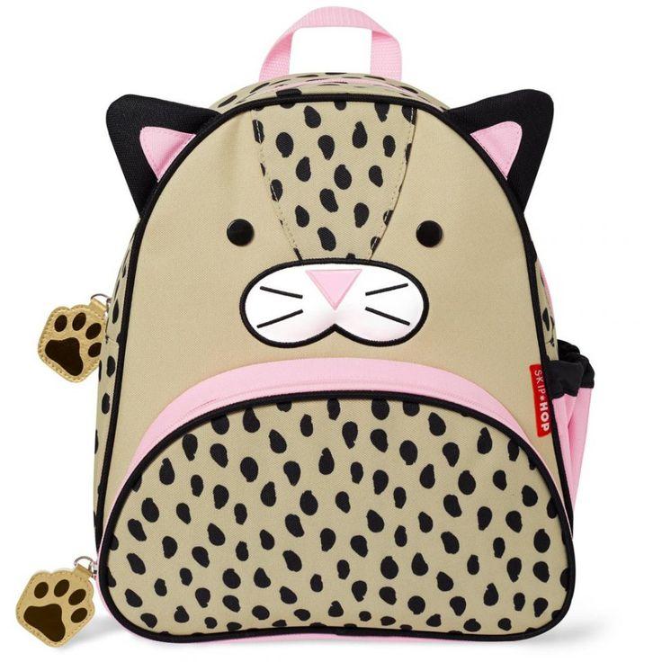 SKIP HOP Zoo Batůžek Leopard   Kašpárek Baby
