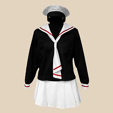 cosplay Kostüm von Card Captor Sakura tomoeda Grundschule Winter Mädchen Schuluniform ver inspiriert. - EUR € 32.99