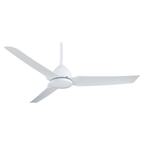 Best 25 ceiling fans without lights ideas on pinterest ceiling modern ceiling fan without light in white finish mozeypictures Choice Image
