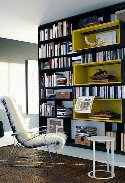 Great Built In Shelving Design With Central Extended Display Sections. Bu0026B  Italia Shelf